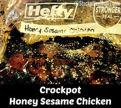 STOCKPILING MOMS™ Crockpot Honey Sesame Chicken Recipe