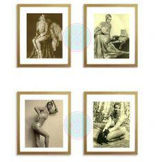 "50% OFF SALE-African American Art, ""Josephine Baker"", Printable Art, Vintage Images, Vintage Women, Digital Collage, African American by PeaceLuvJoyDesigns"