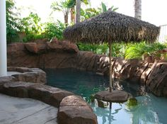 rock pool, jacuzzi, and landscaping built by Blue Pacific Pools, check out our website for more! http://www.bluepacificpools.com/index.html