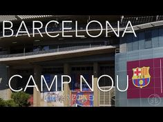 Barcelona - Barça Camp Nou (outer zone) - (Stabilised GoPro Hero 4 Silver) Video…