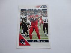 Brian Cushing 2011 Football Card.