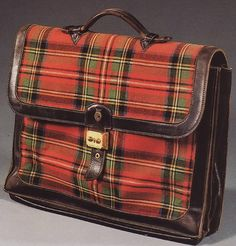 Vintage Hermes Satchel belonging to the Duke of Windsor.
