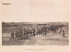 """Regimentul Teleorman nr. 20, 1902, Romania. Ilustrație din colecțiile Bibliotecii Județene """"V.A. Urechia"""" Galați. http://stone.bvau.ro:8282/greenstone/cgi-bin/library.cgi?e=d-01000-00---off-0fotograf--00-1----0-10-0---0---0direct-10---4-------0-1l--11-en-50---20-about---00-3-1-00-0-0-11-1-0utfZz-8-00&a=d&c=fotograf&cl=CL1.20&d=J099_697980"""