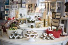gourmet selection for gift baskets display