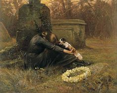 A Comforting Friend by Arthur Wardle