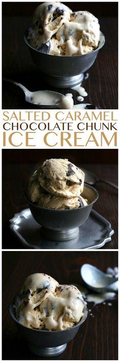 Salted Caramel Chocolate Ice Cream