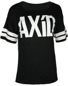 Alpha Xi Delta Striped Football Shirt by Adam Block Design   Custom Greek Apparel & Sorority Clothes   www.adamblockdesign.com