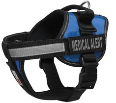 Dogline Unimax Multi-Purpose Vest Harness for Dogs and 2 Removable MEDICAL ALERT Patches -- You can get additional details at the image link. (This is an affiliate link) #DogHarnesses