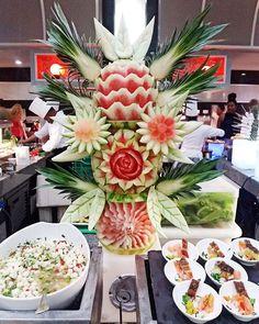 Fruitart at Riu Palace Costa Rica's buffet - All Inclusive - fruit - RIU Hotels & Resorts
