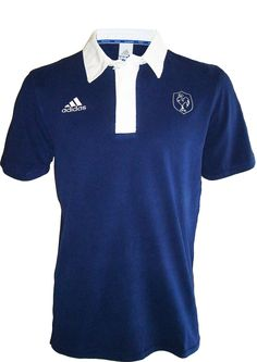 Polo XV DE France - Collection officielle Adidas - Rugby Equipe de France - Taille adulte Homme L
