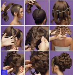 braids - Big Braided Bun for Special Occasions Chikk net Braided Hairstyles, Wedding Hairstyles, Hair Arrange, Pinterest Hair, Hair Dos, Prom Hair, Hair Hacks, Bridal Hair, Hair Inspiration