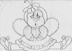 risco-joaninha-desenhos-e-moldes.jpg (800×577)