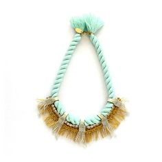 Marya Necklace Azure, 82€, now featured on Fab.