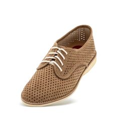 ddc9bdbbc8b1 The Derby Punch Taupe is the perfect pastel shoe you ve been looking for.