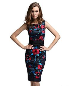 Yacun Women's Floral Embroidered Dress http://www.amazon.com/dp/B00LSSSTLU/ref=cm_sw_r_pi_dp_ieNbvb19P1Y55. Find everything you need to plan your own fiesta party at sparklerparties.com