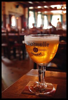 Meet the grandfather of all Belgian tripels. In the 1930's, the monks at Westmalle abbey began to brew this strong pale ale that would be widely imitated by Belgian and Dutch brewers. Originally, the monks sold the beer as Superbeer. A great name! (Photo by ctgreg)