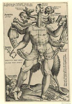 Allegoria dei Cinque Mostri ostinati, De Warminiaen