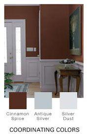 Living Room    Color: Cinnamon Spice by Glidden