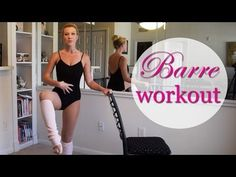 FULL LENGTH: Barre Fitness Workout - Booty, Abs, Arms - YouTube