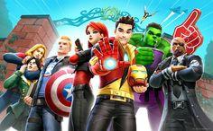El multiverso de los cómics  Marvel en tu  smartphone a través del vídeojuego  Avengers Academy