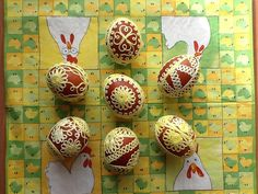 Perlovkové kraslice-cibulovo žluté II | Zobrazit plnou velikost fotografie Desserts, Food, Tailgate Desserts, Deserts, Essen, Postres, Meals, Dessert, Yemek