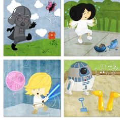 Star Wars Blocks  fabric by samantha102489 on Spoonflower - custom fabric