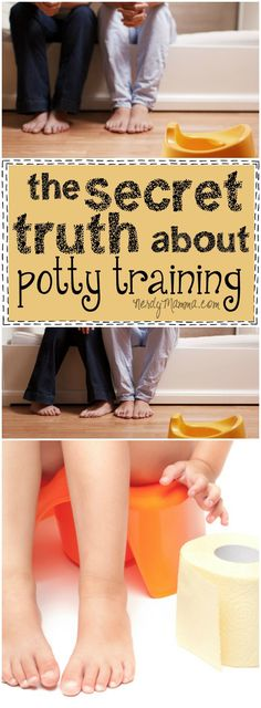 This mom is so right--this secret about potty training is just not talked about enough.