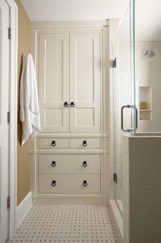Bathroom storage - floor to ceiling