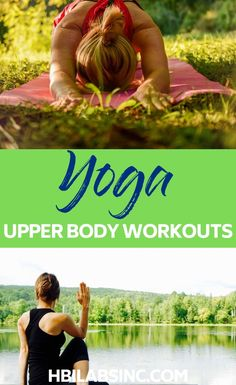 These yoga workouts for the upper body will give you strength as well as all of the added benefits of regular yoga practice for your entire body. Yoga for Upper Body Strength Beginner Upper Body Workout, Upper Body Workout Plan, Bodyweight Upper Body Workout, Upper Body Workout For Women, Bar Workout, Strength Workout, Workout For Beginners, Chest Workout At Home, Chest Workouts