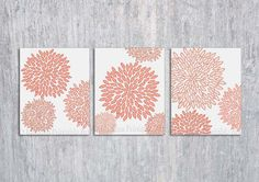Coral Bedroom Wall Art PRINTABLE Coral Wall by ModernPrintableArt, $8.95