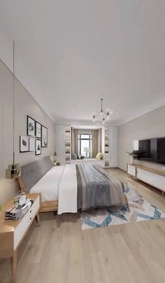 Small Room Design Bedroom, Small House Interior Design, Bedroom Furniture Design, Modern Bedroom Design, Home Room Design, Modern Small Apartment Design, Modern Luxury Bedroom, Bed Design, Bedroom Layouts