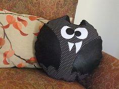 "Cuuuuuute little bat pillow ""Baxter"""
