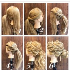 wedding hairstyles Home Trends home interior trends 2019 Creative Hairstyles, Up Hairstyles, Wedding Hairstyles, Peinado Updo, Hair Arrange, Pinterest Hair, Love Hair, Hair Today, Hair Dos