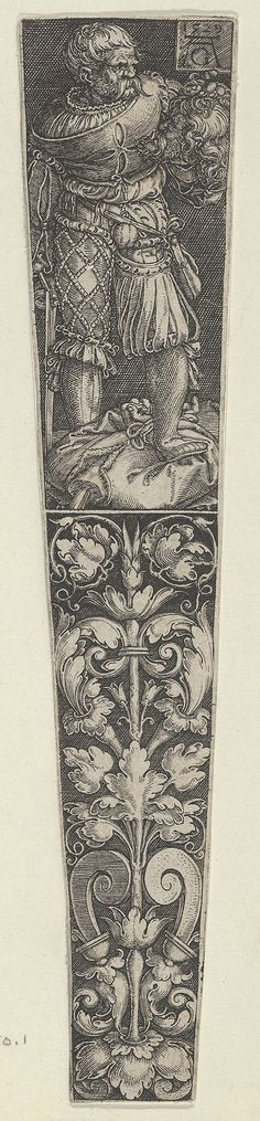 Design for a Dagger Sheath, with Executioner and Head of John the Baptist. (1529)