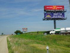 Billboard located on I-39 North of Bloomington IL