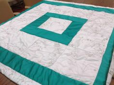 Wedding Dress Quilt Accented with a Bridesmaid Dress.