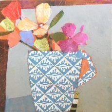Cambridge Mug and Flowers 10 x10 in £195