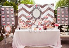 Beautiful Vintage Bridal Shower ideas by angela