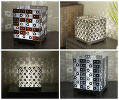 For all of us born before the 1980s, here is a cool idea to upcycle all those old tapes you still have but forgotten in this age of digital data's. Why not turn them into a nice lamp ?  That's what the guys at Transparent House are doing with their old cassettes. Each lamp is made from dozens o... #Design, #Lamp, #Light, #Tape, #Upcycled