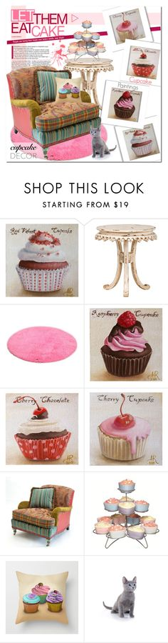 """""""MY CUPCAKE PAINTINGS (links in description)"""" by never-alone ❤ liked on Polyvore featuring TOM TAILOR and Sweetly Does it"""