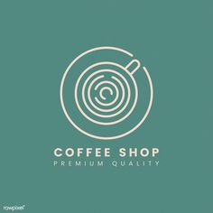 Fiverr freelancer will provide Logo Design services and design flat and minimalist logo for your business including # of Initial Concepts Included within 1 day Coffee Shop Branding, Coffee Shop Logo, Cafe Branding, Coffee Shop Design, Branding Design, Corporate Branding, Cafe Design, Minimal Logo, Logo Inspiration