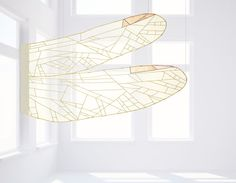 Jogakbo sheer silk dragonfly wings on sale at etsy by Textile artist of Design Meem, Jessica Yoo, working in Seoul