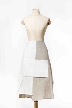 Marzipan skirt in linen combination. Feels fab to wear!