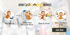 Find Best #DiscountCoupons Codes, Cashback Offers, Hot #Deals, Best #Offers, #PromoCodes, Promotional Codes for to #SaveMoney on #OnlineShopping. Find Valid Free Cashback Vouchers, Freebies from www.Cashmonkey.in