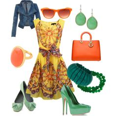 """""""summer"""" by agnesvanliere on Polyvore"""