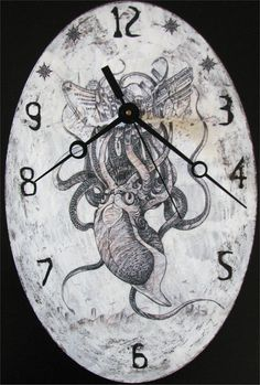 Hey, I found this really awesome Etsy listing at https://www.etsy.com/listing/231466672/handmade-clock-decoupage-technique-wall