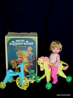 Tippy Toes--my best friend had one of these dolls and I wanted one so much.