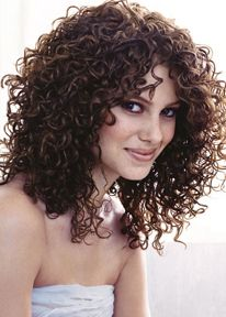 spiral perms for medium length hair | oval face style your hair daily with an alcohol free mousse and hair ...