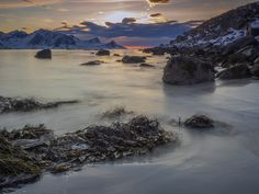 Haukland Beach, Lofoten, Norway by Henk Goossens  Haukland Beach on the Lofoten Islands is one of the many beaches that are very easily accessible.  http://lp-mag.com/3nld