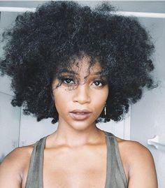 Afro hair. Natural hair. Kinky hair. Frizzy hair. Kinky curly hair.